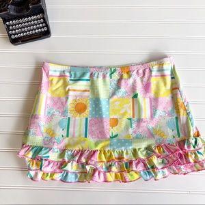Lilly Pulitzer Million Dollar Patch Skirt Medium